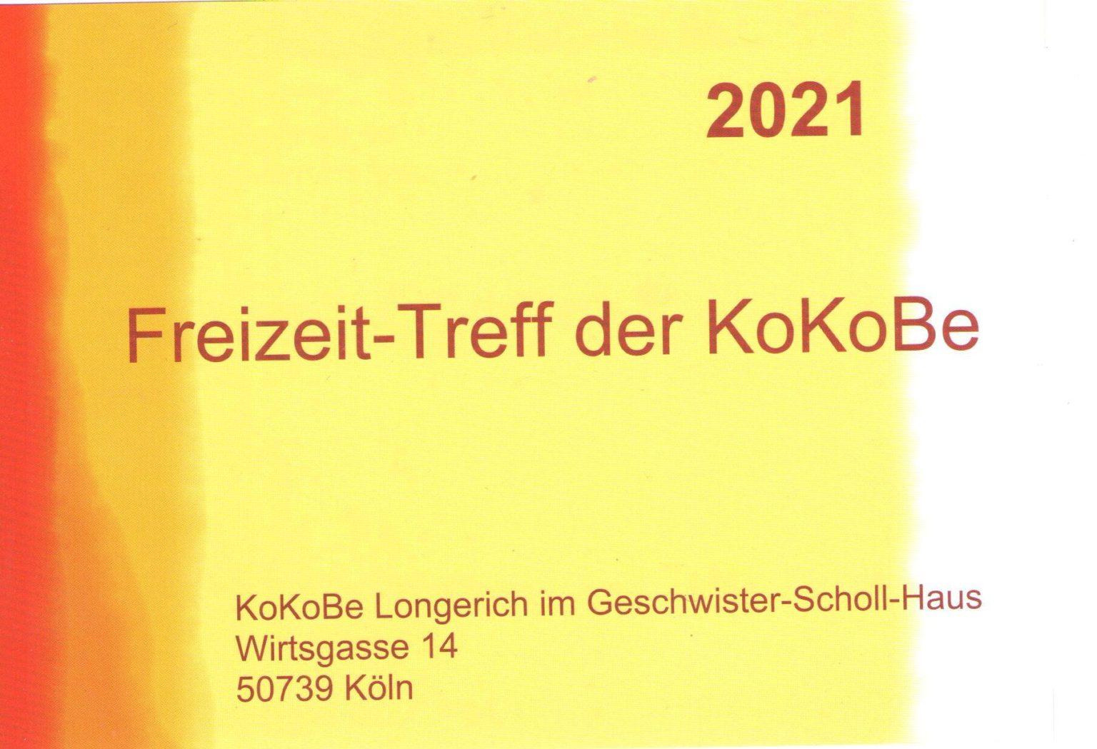 Freizeitangebote der 4 Kölner KoKoBe - KoKoBe Köln